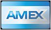 Aceitamos cartão de crédito American Express - SC Lareiras