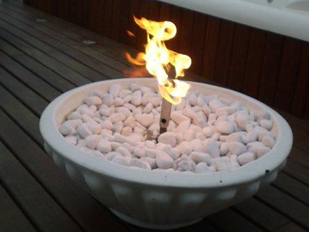 Lareira à Gás externa (fogo de chão) - 13